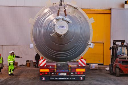 Steel construction oversize